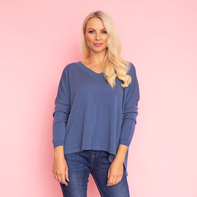 Eden Jumper (Blue)