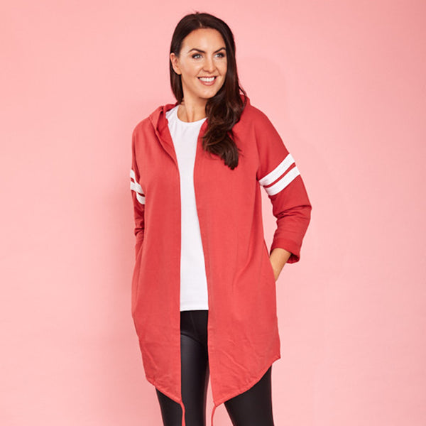 Chloe Hoody (Strawberry)