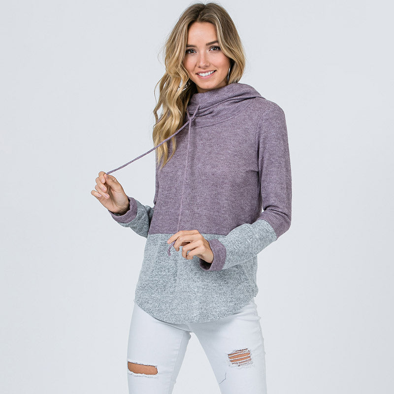 Lisa Turtle Neck Jumper Lavender