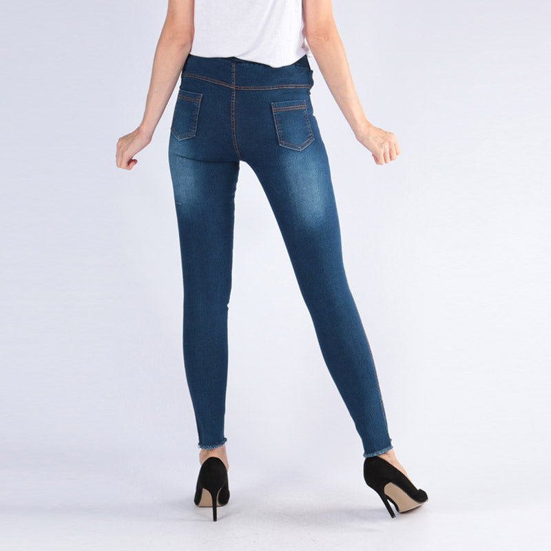 High Waist Jegging Dark Wash