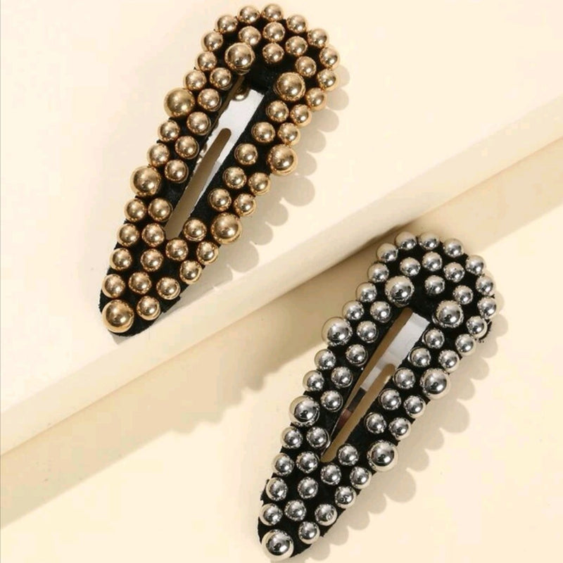 2pcs Large Ball Hair Clip