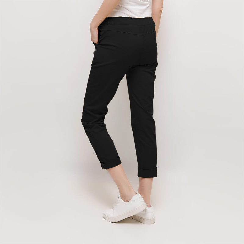 Emily Chino Trousers (Black)