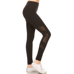 Mia Mesh High Waisted Leggings