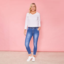 Molly Jegging (True Blue)