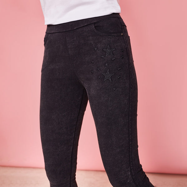 Tilly Jegging (Black)