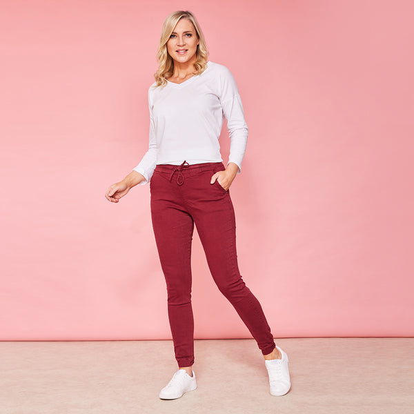 Tessa Trousers (Berry)