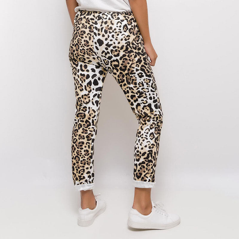 Lima Leopard Joggers