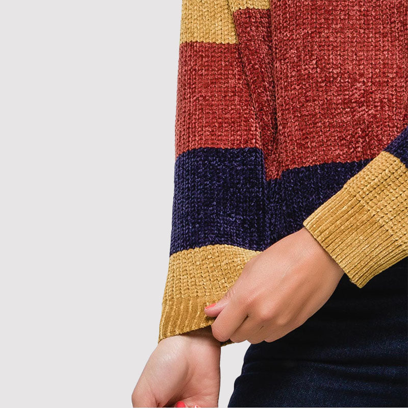 Carrie Colour Block Jumper