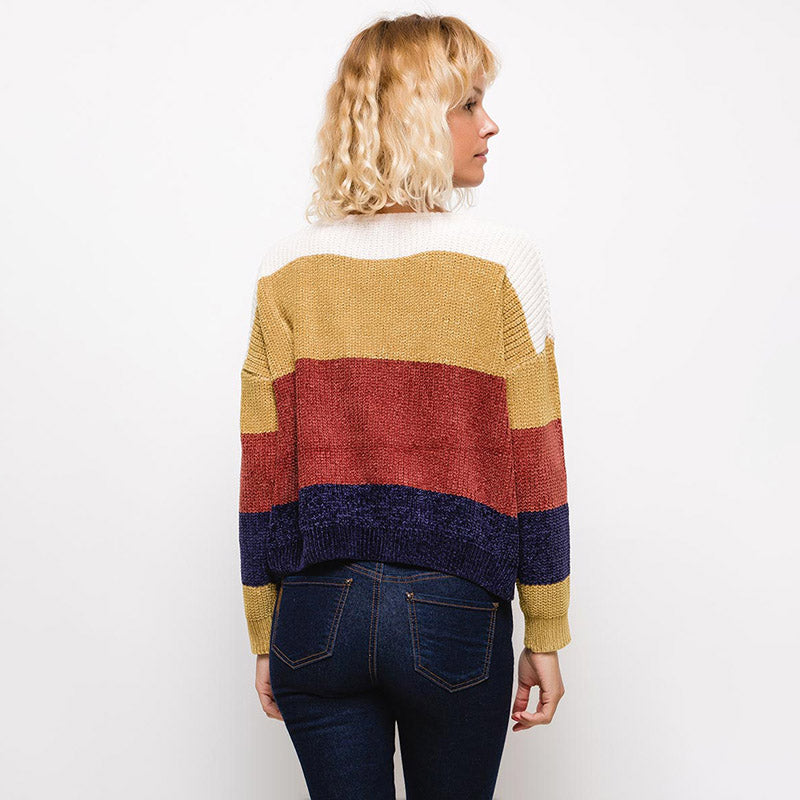 Jackie Block Colour Jumper