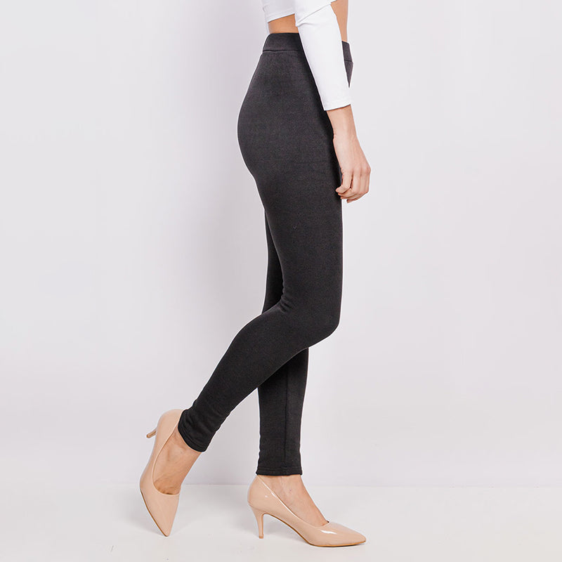 Lyla Fleece Legging (Black)