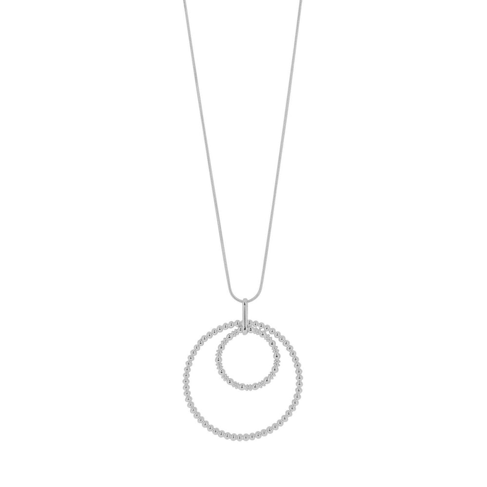 Dansk Bubble Necklace Rhodium