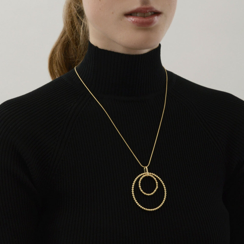 Dansk Bubble Necklace Gold