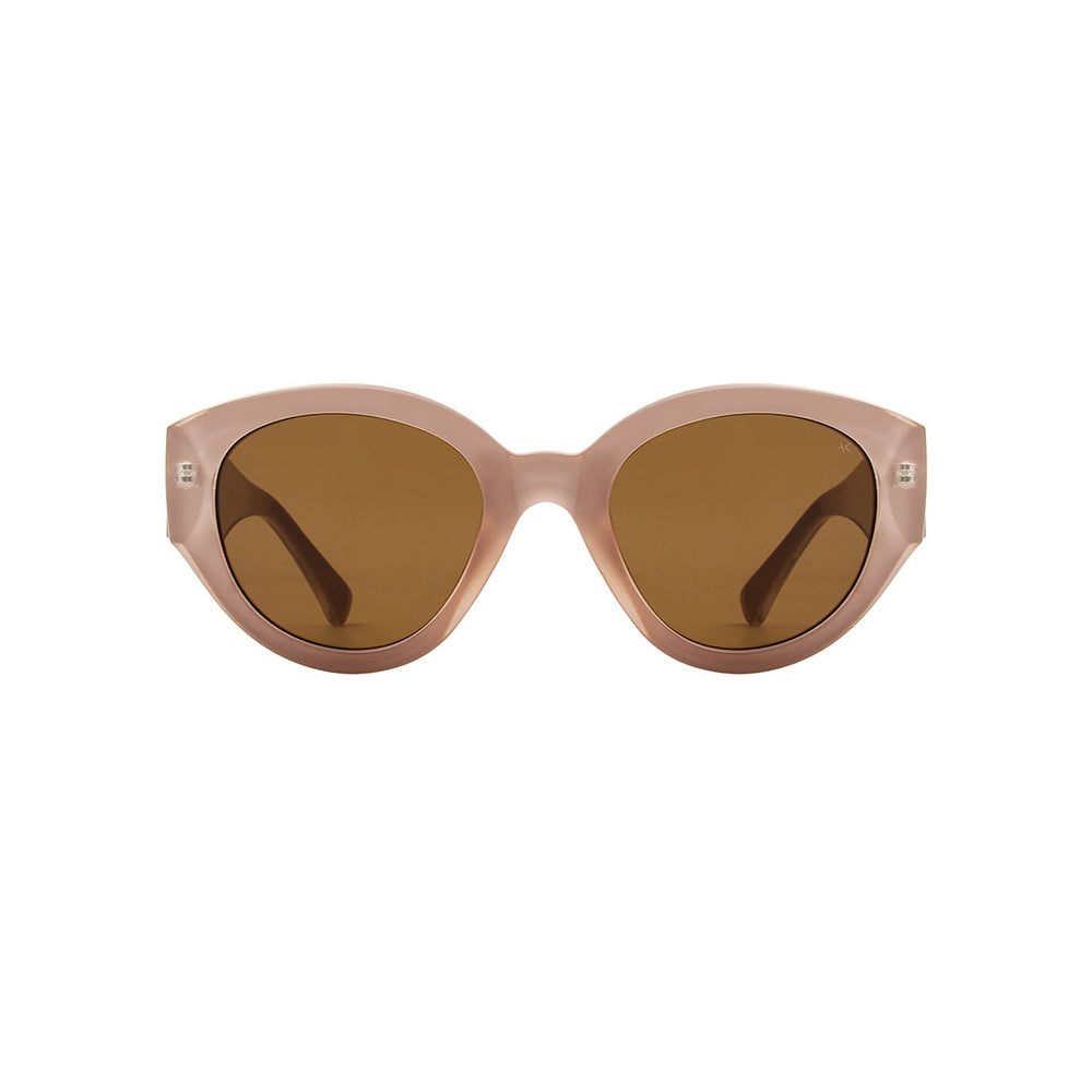 A.Kjaerbede Sunglasses Big Winnie Light Grey