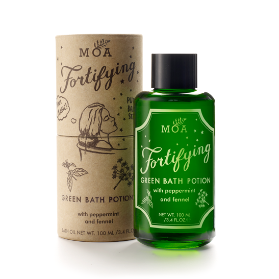 MOA Fortifying Green Bath Oil