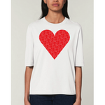 Joyce Paton If I Only Had A Heart T-Shirt White