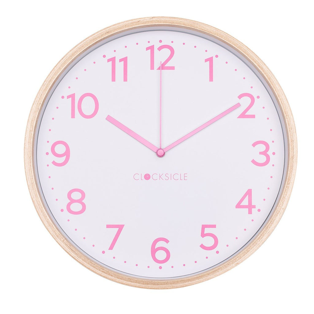 Lolly Pink Wall Clock