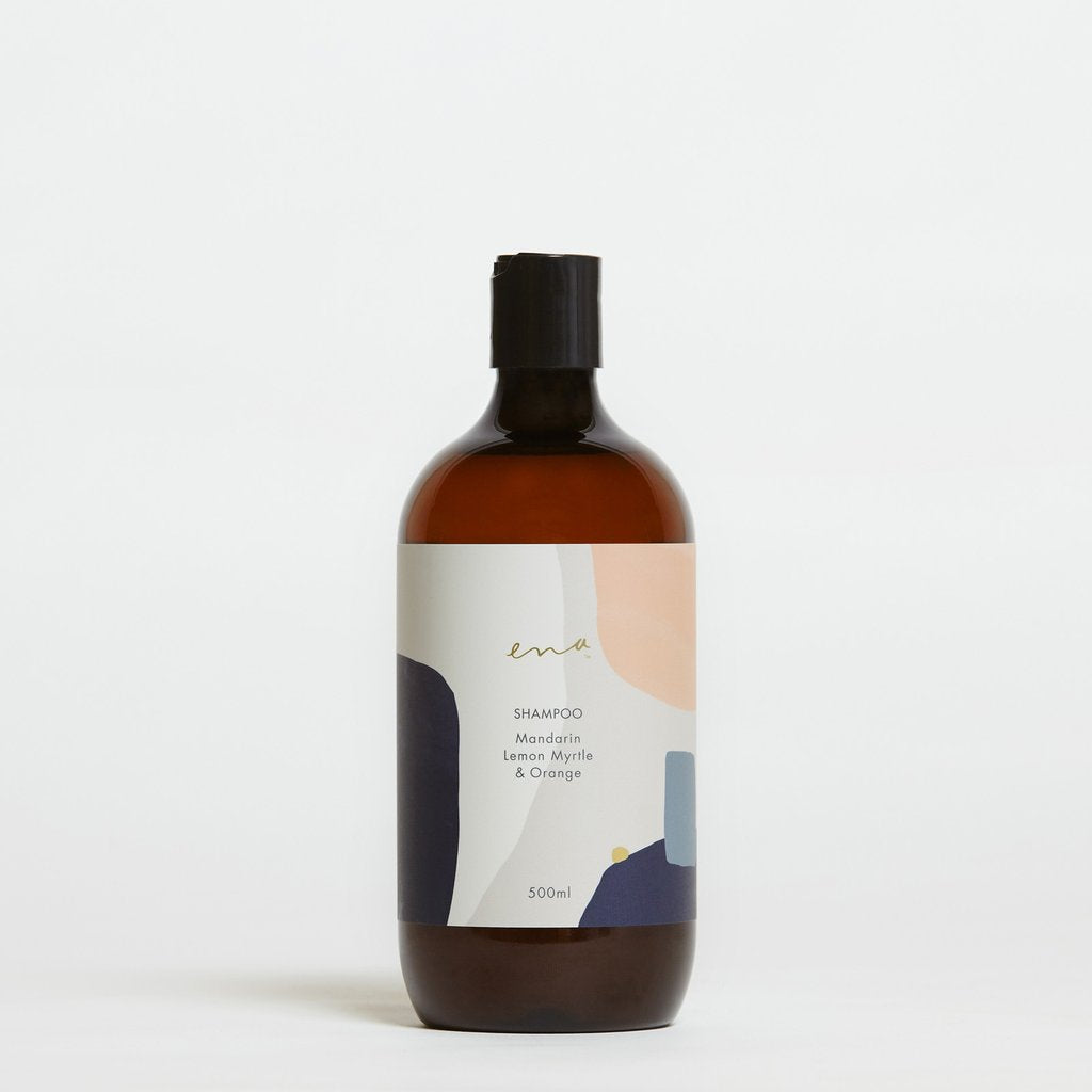 Ena Shampoo - Mandarin, Lemon Myrtle & Orange 500ml