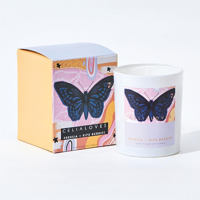 Celia Loves Tropicana Freesia & Ripe Berries Candle