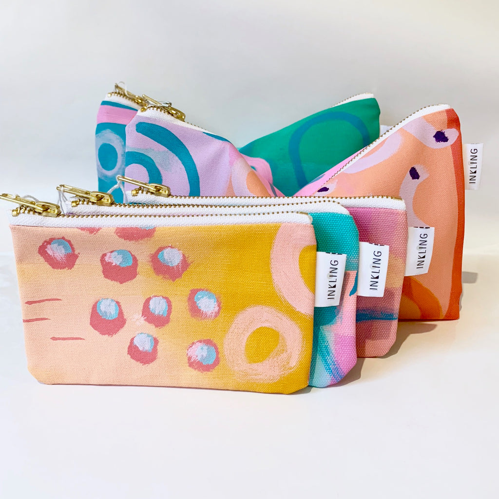 Inkling colourful clutch