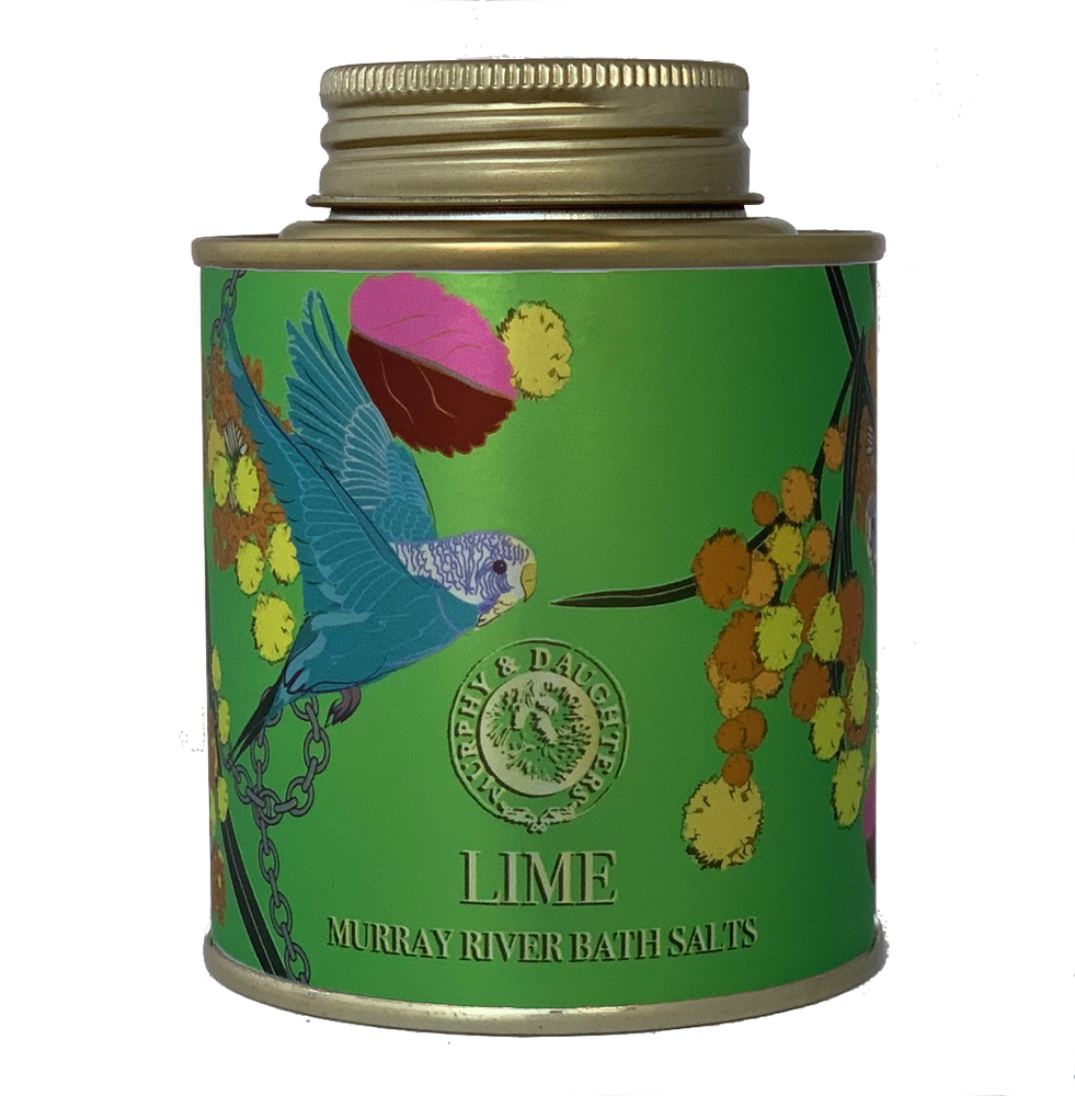 Murphy & Daughters Bath Salts 250g - Lime