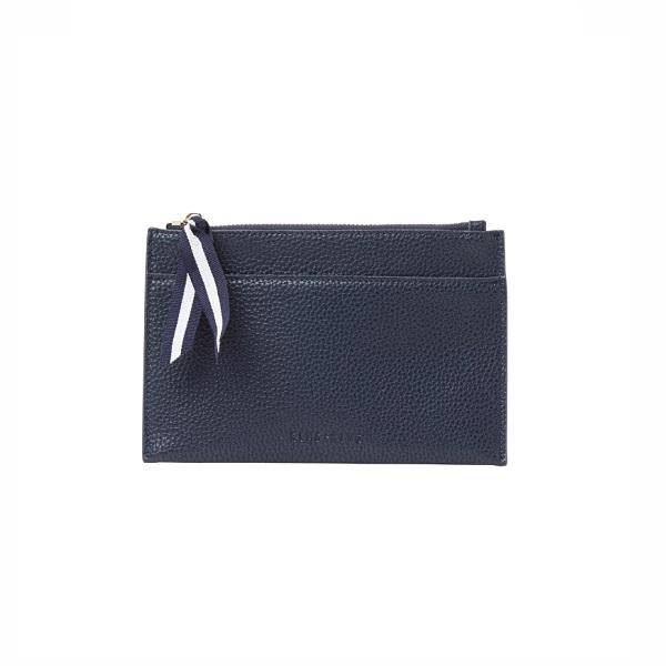 New York Coin Purse French Navy