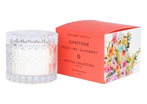 Candle Petite Sunstone - Melon, Lime & Blackberry