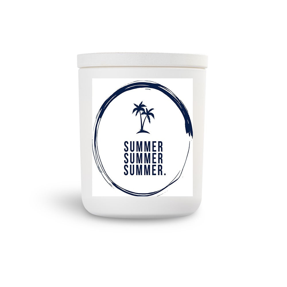TN White Candle Summer C,nut/L'grass