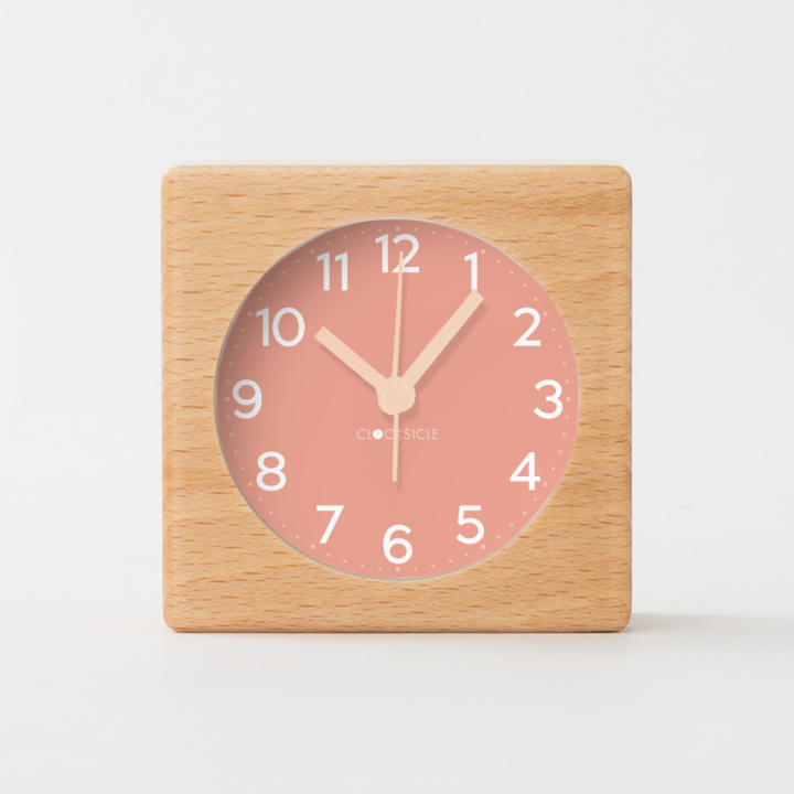Blush Silent Alarm Clock