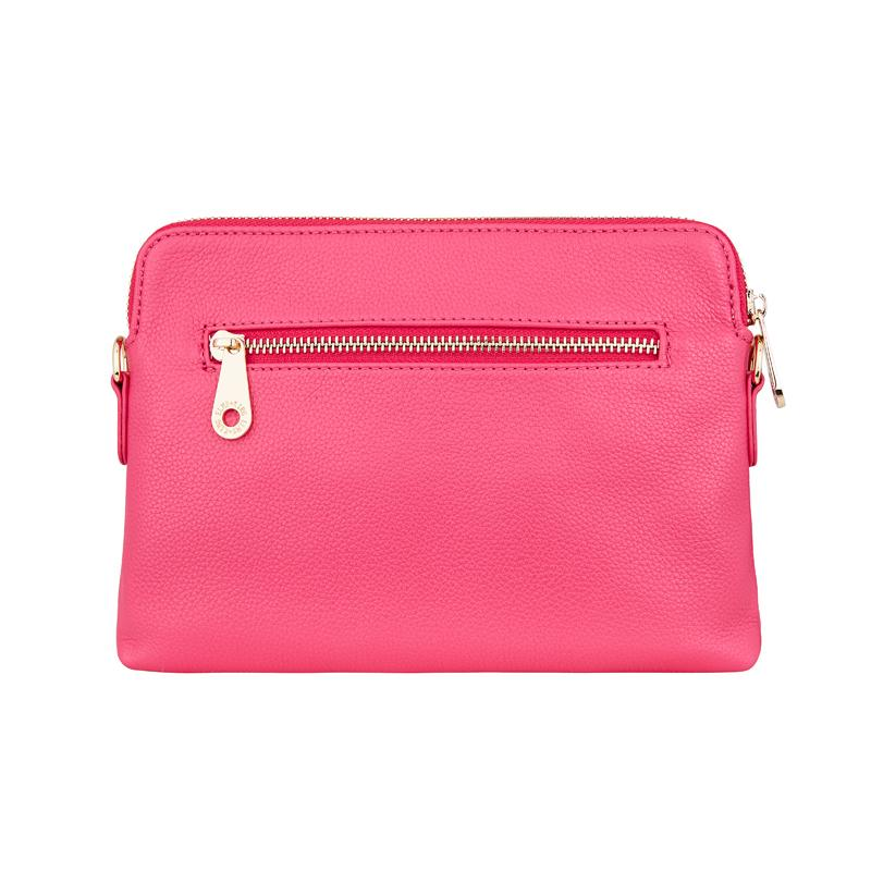 Bowery Wallet crossbody -Fuschia