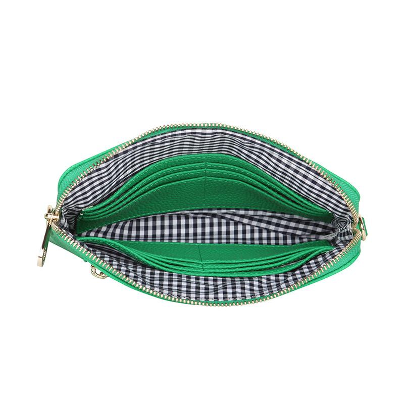 Bowery Wallet crossbody Green