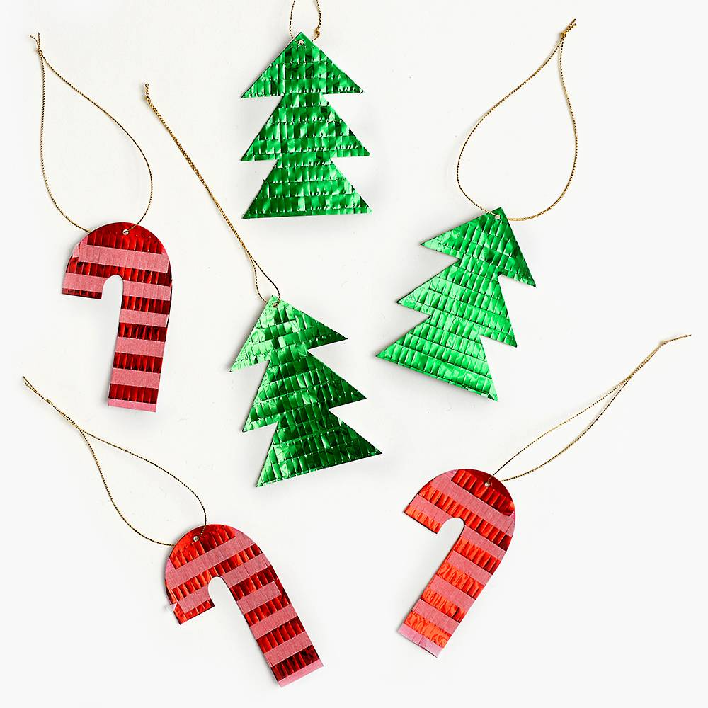 Gift Tags Tree Candy Cane