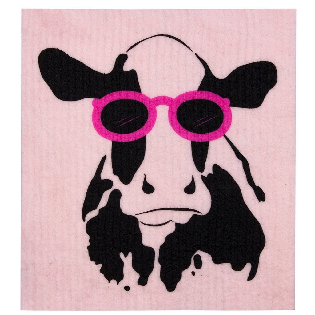 Dish Cloth Cow