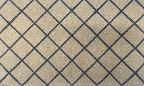 Grey Trellis Doormat