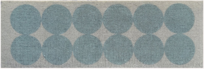 Long Scandi Circles Doormat
