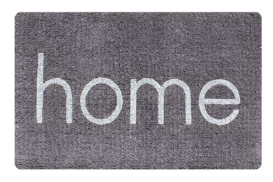Home Grey doormat