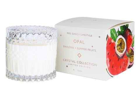 Candle Opal - Pavlova & Summer Fruits