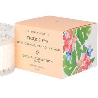 Candle Petite Tigers Eye - Zesty Orange, Mango & Peach