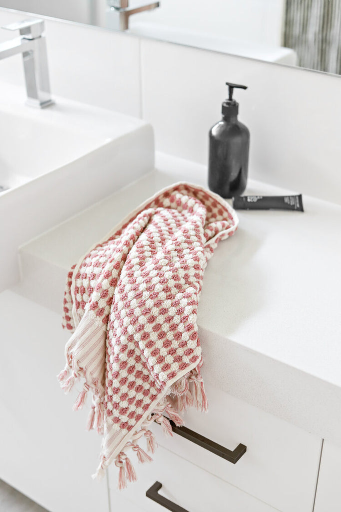 Pale Pink Bath Towel by Miss April