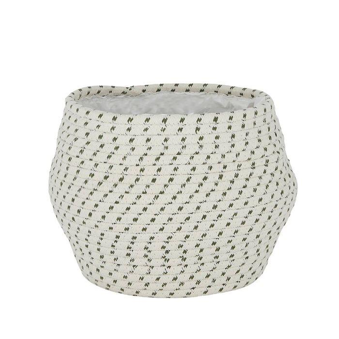 Tessa Cotton/Maize Basket 22cm