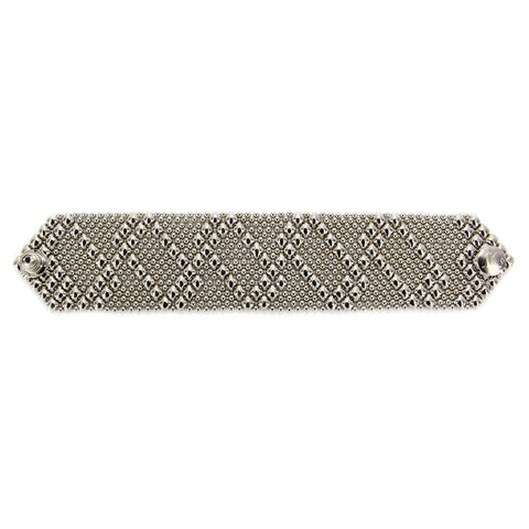 B46-N Chrome Finish Bracelet - Liquid Metal by Sergio Gutierrez