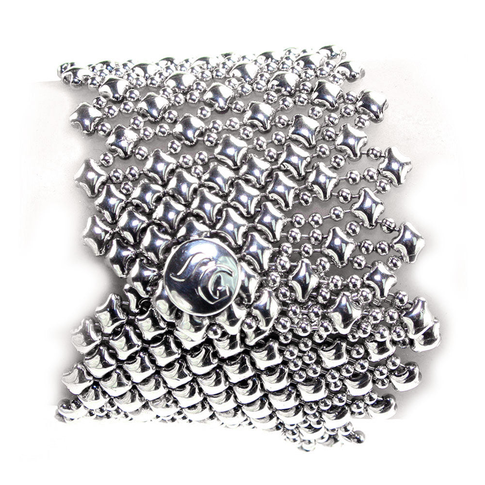 B79-AS Antique Silver Bracelet - Liquid Metal by Sergio Gutierrez