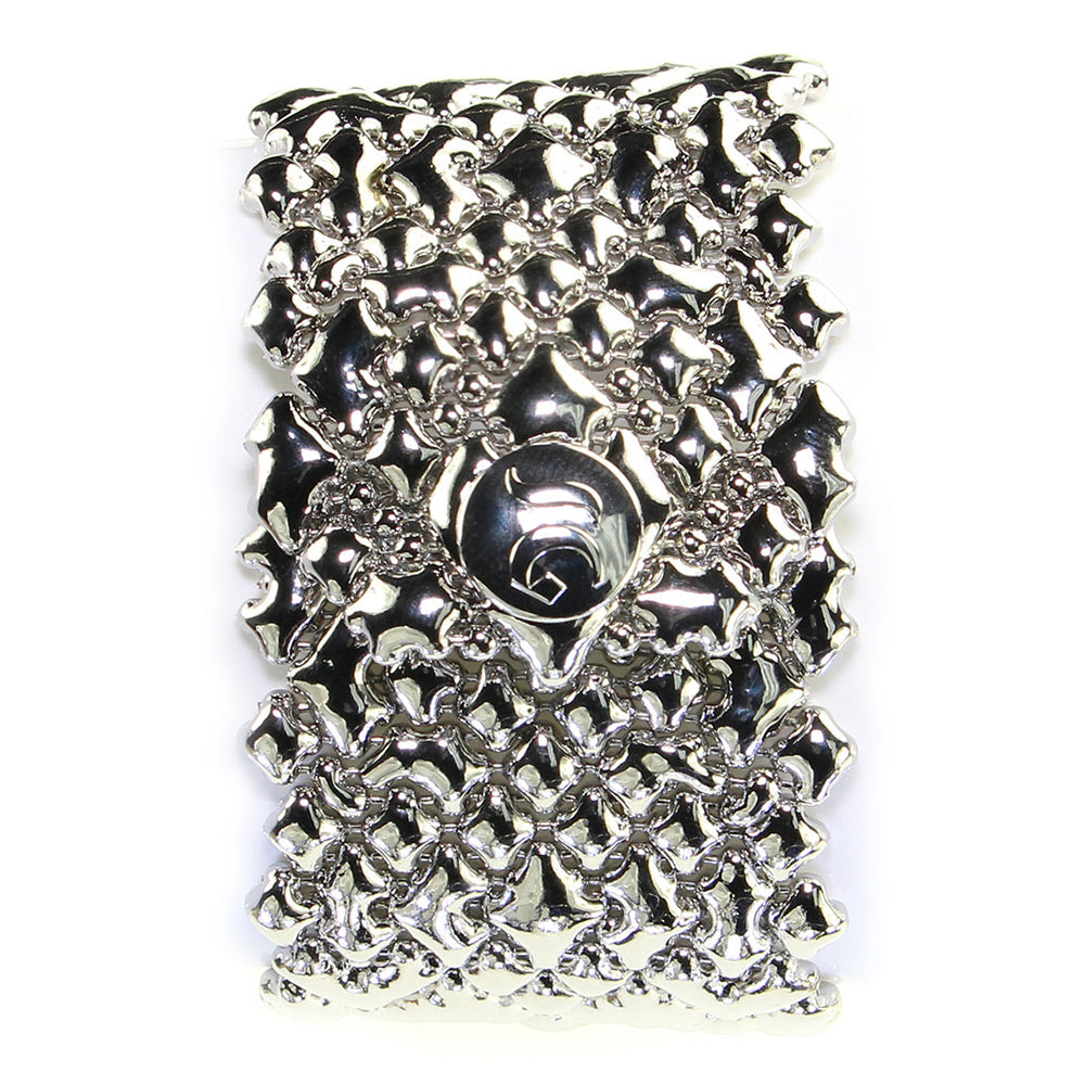 B89-N Chrome Finish Bracelet - Liquid Metal by Sergio Gutierrez