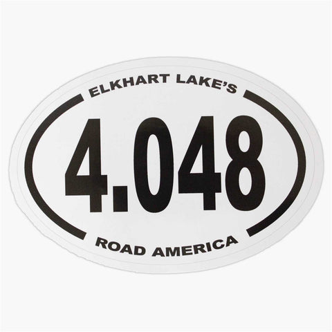 4.048 Oval Sticker
