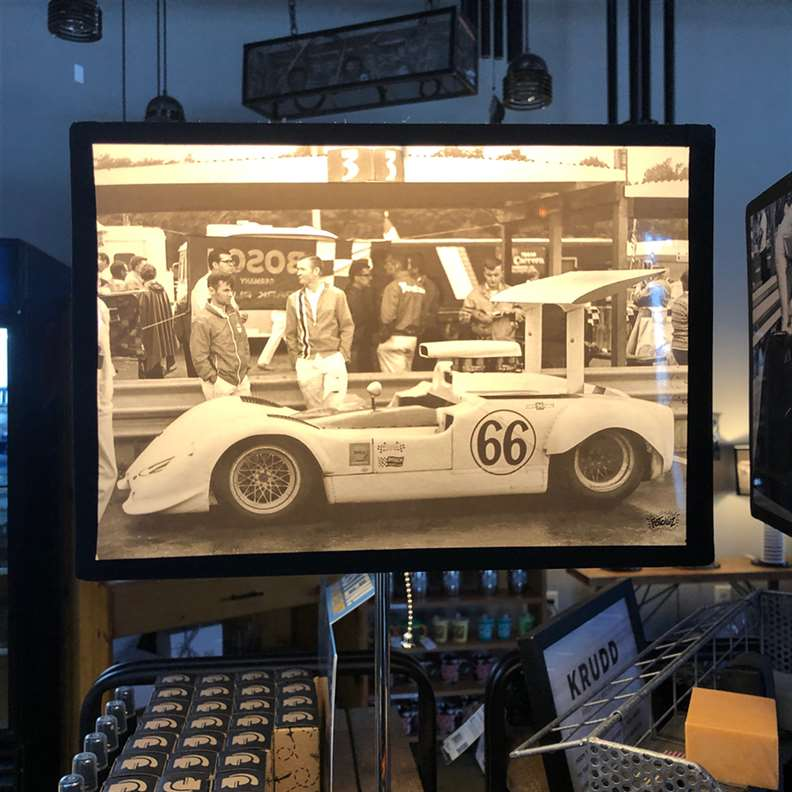 Car 66 Picture Lamp Shade