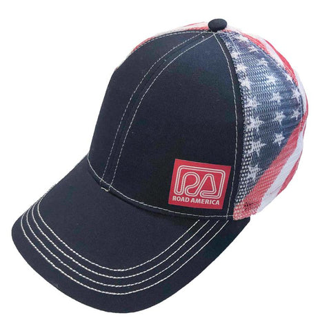 Flag Mesh Back Cap 7641G