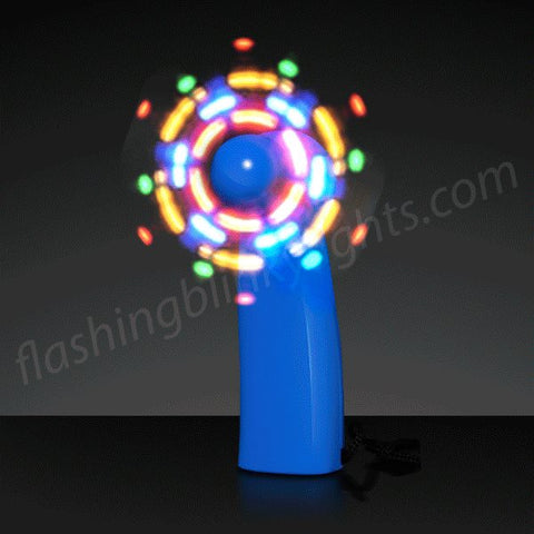 LED Blue Mini Fans