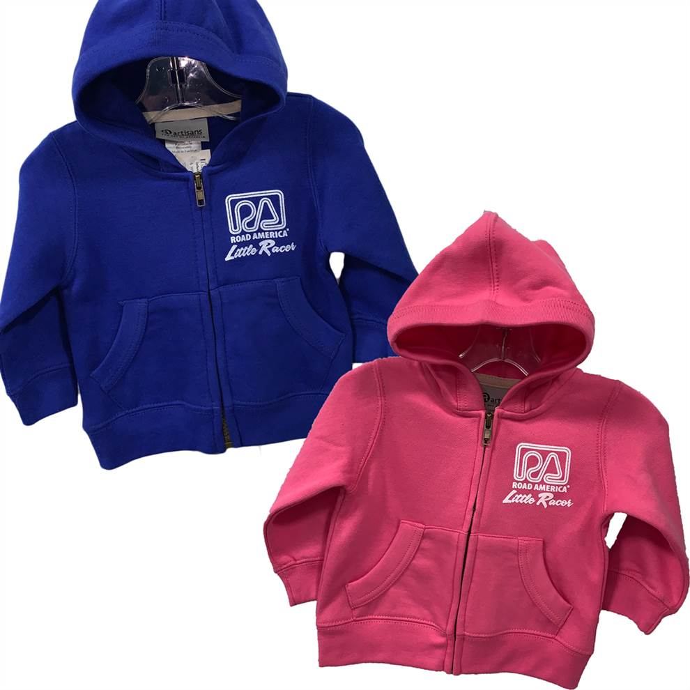 Infant Little Racer Zip Hoody