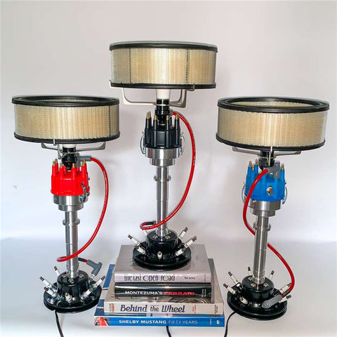 Distributor Lamp with Shade