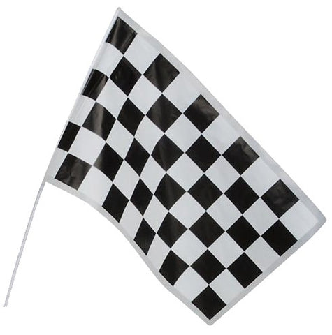 Plastic Racing Flag