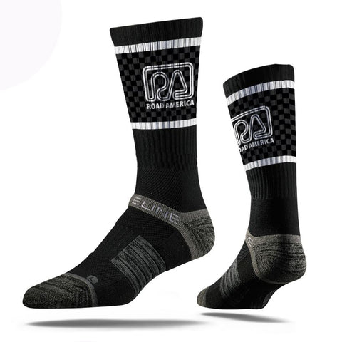 RA Logo Socks-Black